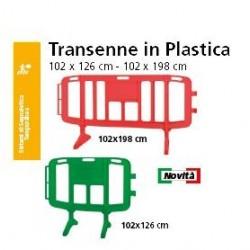 TRANSENNA IN PLASTICA  102x123/102x198 cm